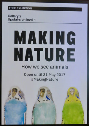 making nature poster